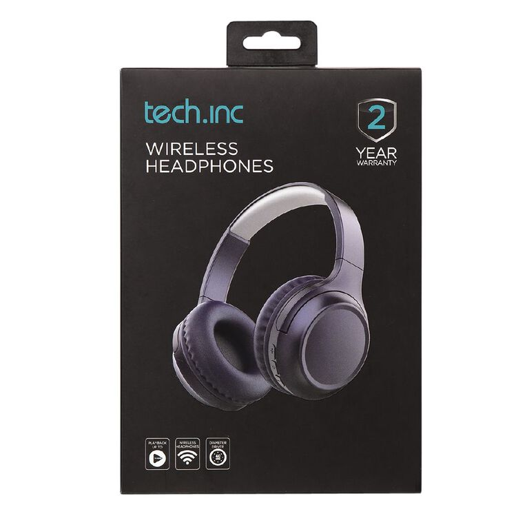 Tech.Inc Bluetooth On Ear Headphone, , hi-res
