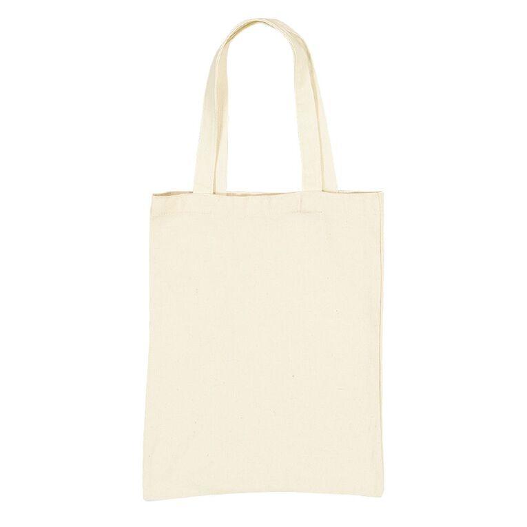 Uniti DIY Canvas Shopping Bag Natural 30 x 40, , hi-res