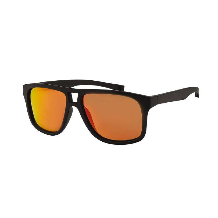 H&H Men's Mirror Matte Sunglasses, Burgundy, hi-res