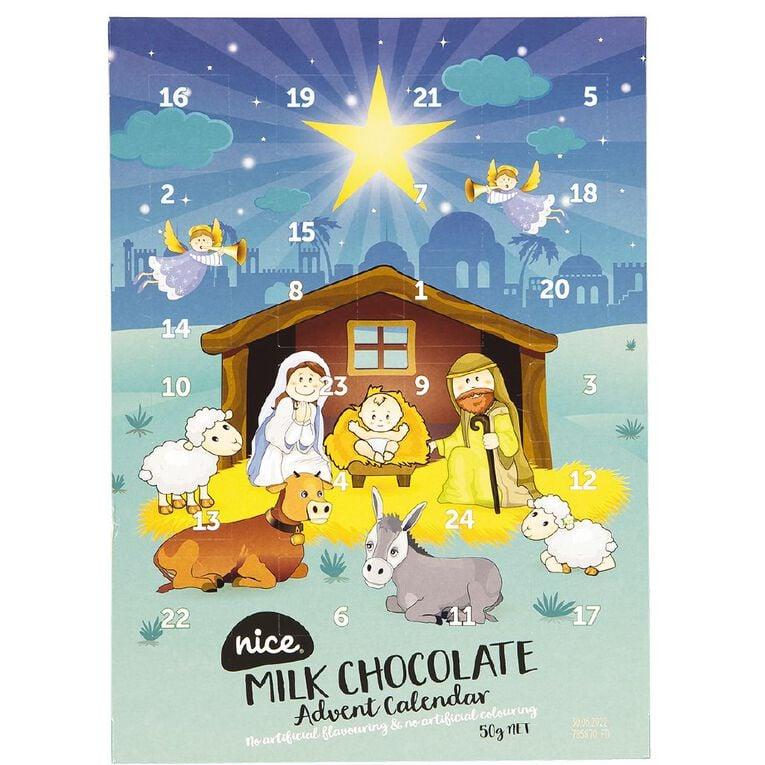 Nice Nativity Advent Calendar 50g (NAFNAC), , hi-res
