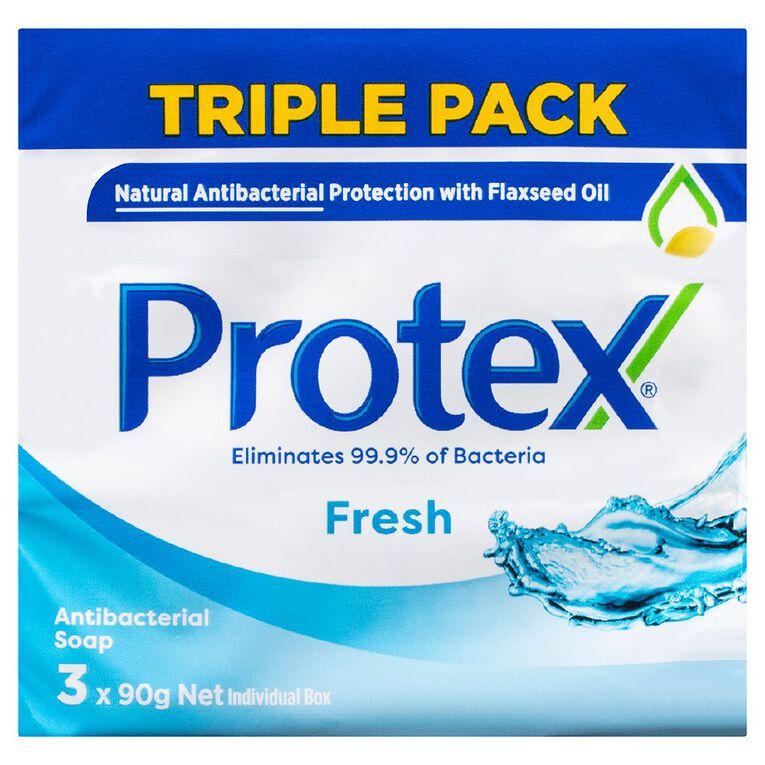Protex Fresh Bar Soap 3 Pack, , hi-res