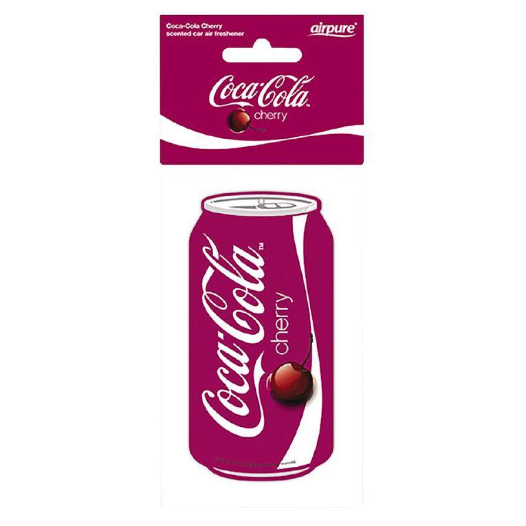 Coca Cola Hanging Car Air Freshener Original Cherry Can, , hi-res