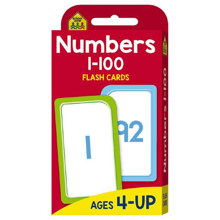 Hinkler School Zone Numbers 1-100 Flash Cards, , hi-res