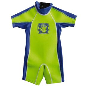Body Glove Kids Rash Suit Green Size 2
