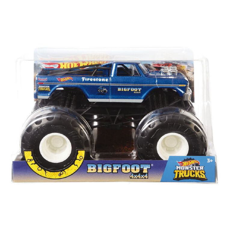 Hot Wheels Monster Trucks 1:24 Scale Diecast Truck Assorted, , hi-res