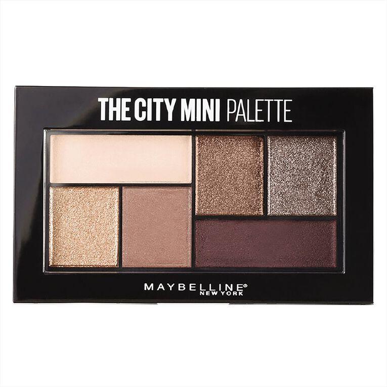 Maybelline Mini Palette Chilli Brunch Eye Shadow, , hi-res
