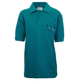 Schooltex Greenmeadows School Short Sleeve Polo
