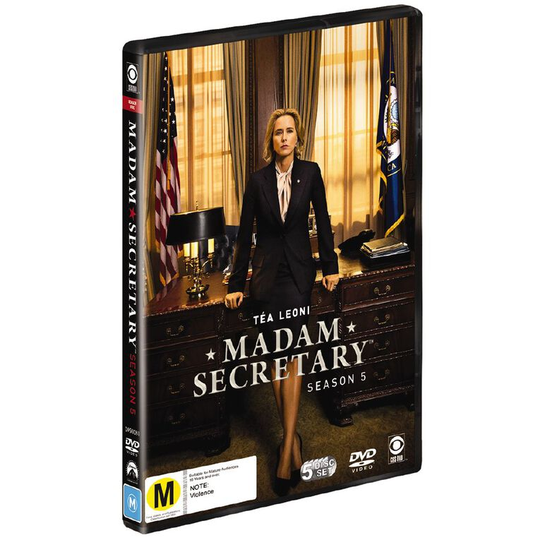 Madam Secretary Season 5 DVD 5Disc, , hi-res