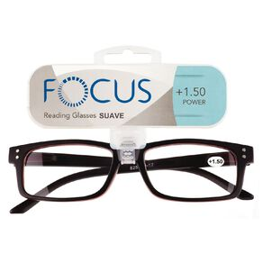 Focus Reading Glasses Men's Suave Power 1.50