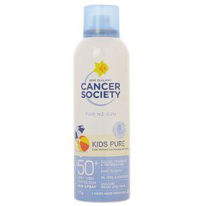 Cancer Society Kids Pure Aerosol Spray SPF50+ 175g