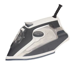 Living & Co Ceramic Soleplate Iron 2000-2400W Grey/White