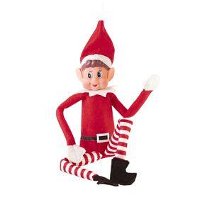 Christmas Elf 30cm Red