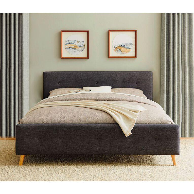 Living & Co Boston Bed Frame King, , hi-res