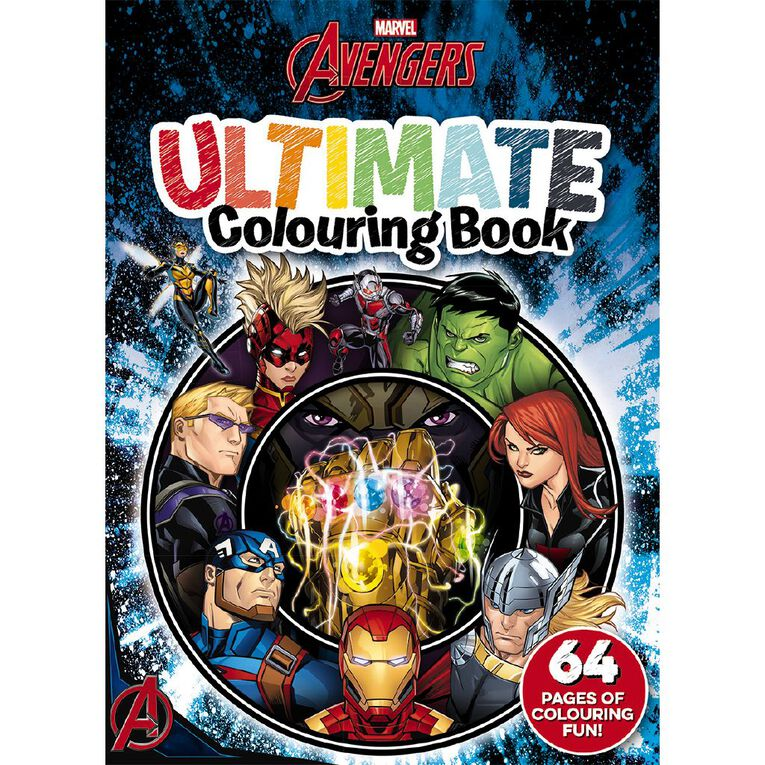 Marvel Avengers Classic: Ultimate Colouring Book, , hi-res