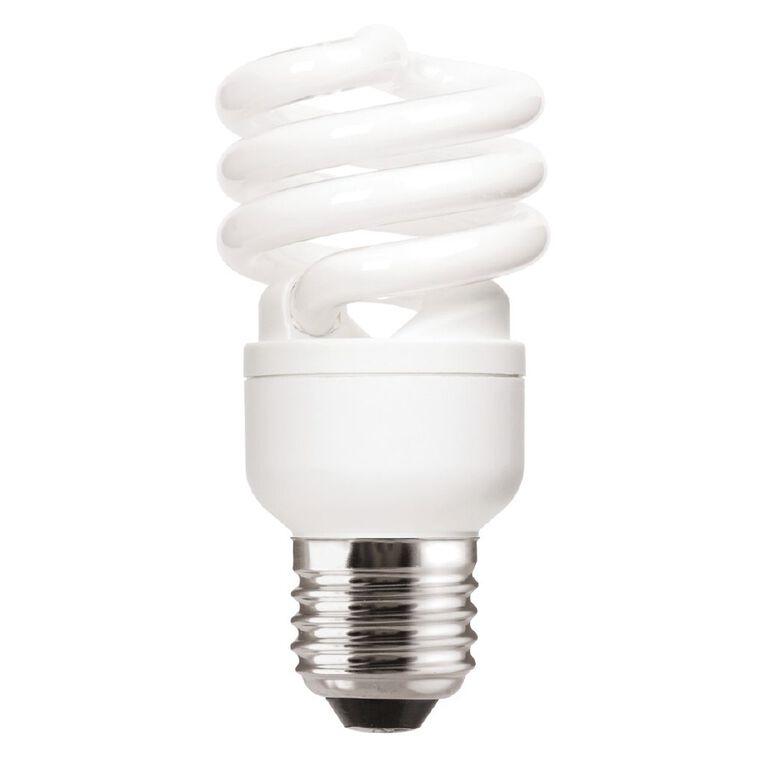 General Electric Spiral Bulb CFL E27 15w Warm White, , hi-res