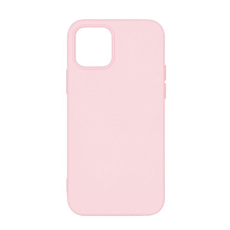 Tech.Inc iPhone 12 & 12 Pro Semi-hard TPU Case Light Pink, , hi-res