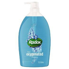 Radox Oxygenated Shower Gel 1L