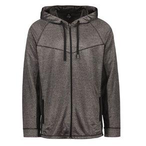 Active Intent Men's Cooldry Zip-Thru Sweatshirt