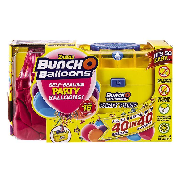 Zuru Bunch O Balloons Self-Sealing 16 Balloons & Pump Pack Pink, , hi-res