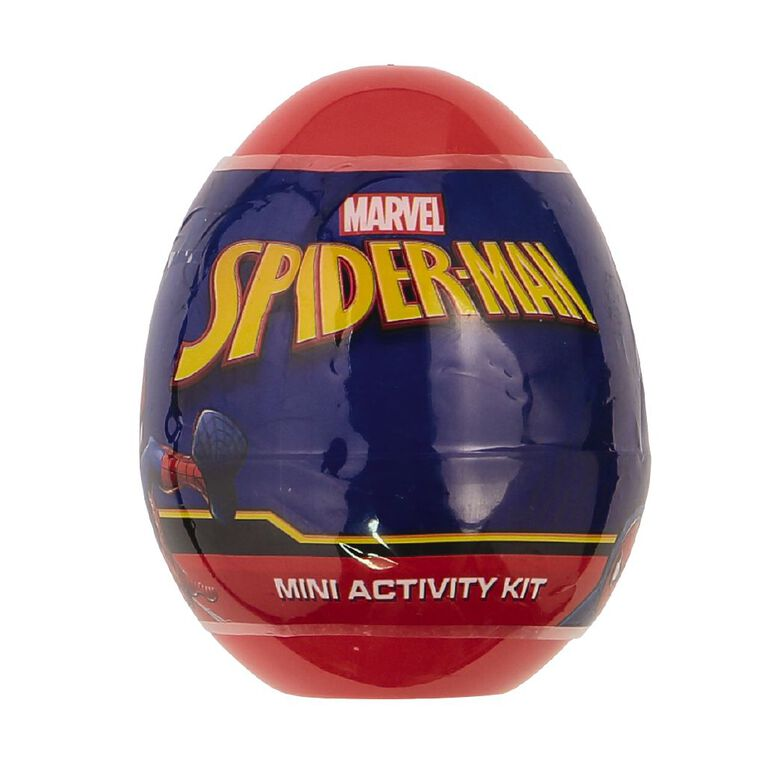 Spider-Man Mini Egg Art Activity Kit, , hi-res
