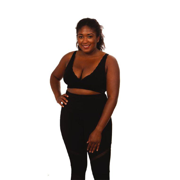 As Seen On TV SaraMia Bra Black Small, Black, hi-res