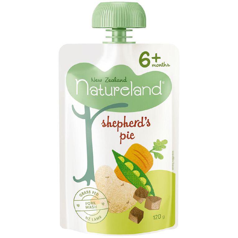 Natureland Shepherd's Pie & Mash Pouch 120g, , hi-res