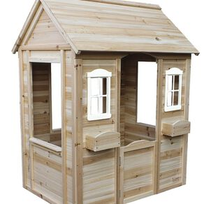 Active Intent Play Wooden Playhouse