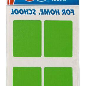 Quik Stik Labels Mr3545 28 Pack Fluoro Green