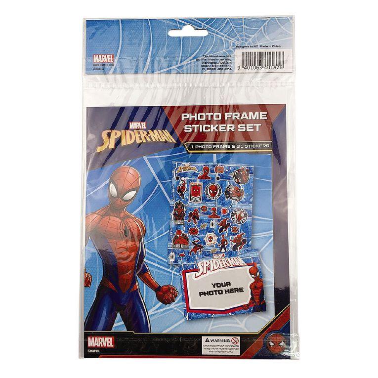 Spider-Man DIY Puffy Sticker Frame, , hi-res