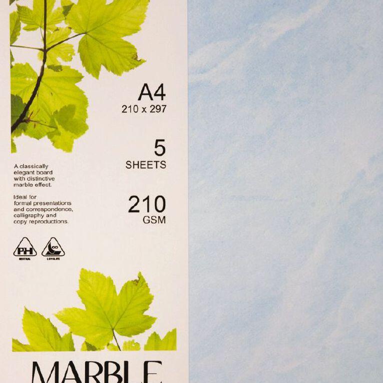 Direct Paper Marble Paper 210gsm 5 Pack, , hi-res