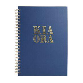Uniti Kiwi Breeze Notebook Hardcover Kia Ora Green A4