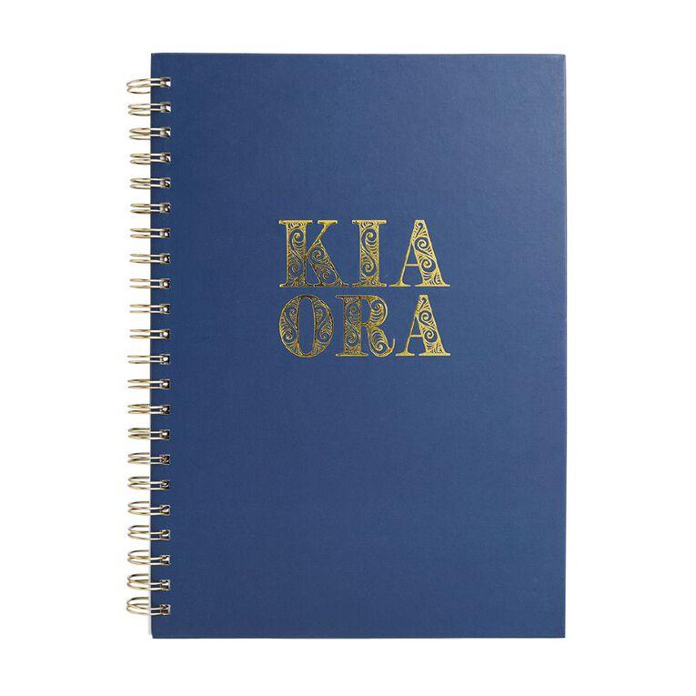 Uniti Kiwi Breeze Notebook Hardcover Kia Ora Green A4, , hi-res