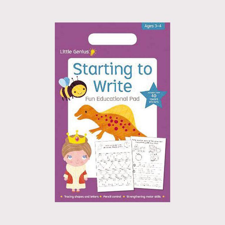 Little Genius Small Pad: Writing (3-4), , hi-res