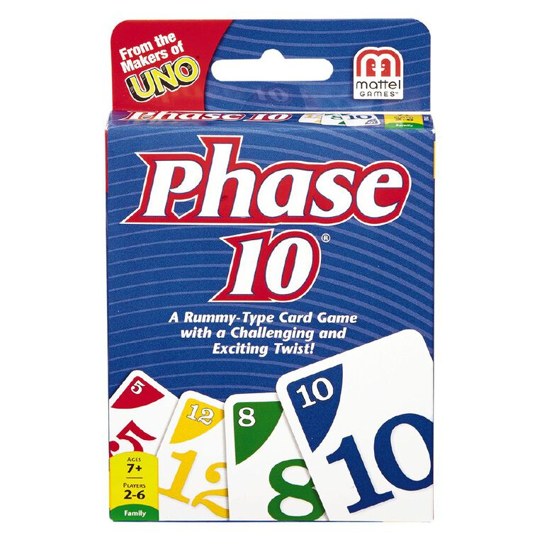 UNO Phase 10 Card Game, , hi-res