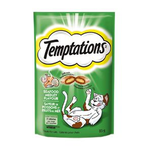 Whiskas Temptations Seafood Medley Flavour 85g