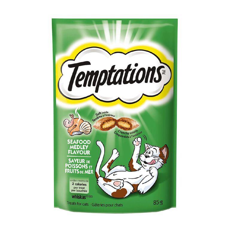 Whiskas Temptations Seafood Medley Flavour 85g, , hi-res