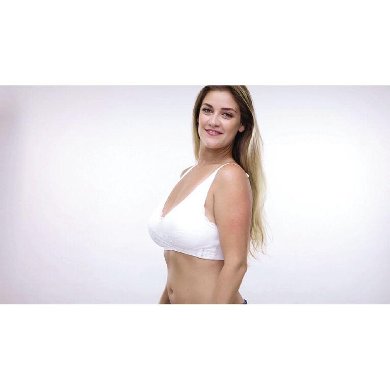 As Seen On TV SaraMia Bra White Medium, White, hi-res