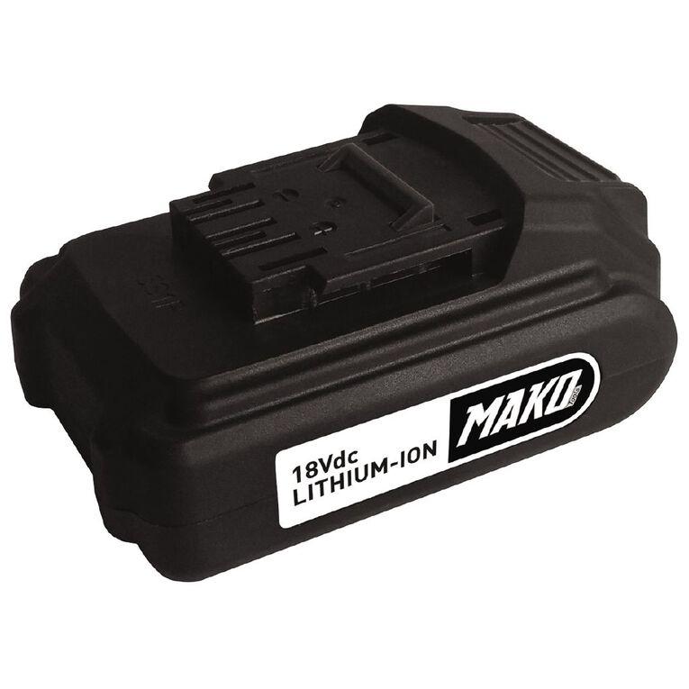 Mako 18V 1.5AH Li-ion Battery Pack, , hi-res image number null