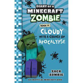 Minecraft Zombie #14 Cloudy Chance Apocalypse by Zack Zombie