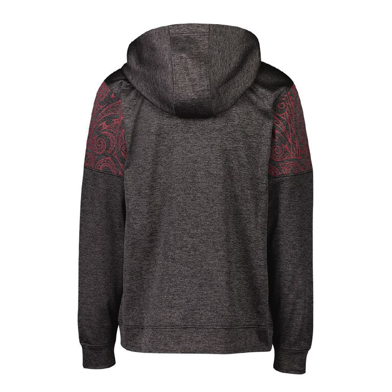 Active Intent Men's Supporter Zip Thru Sweatshirt, Grey Dark, hi-res