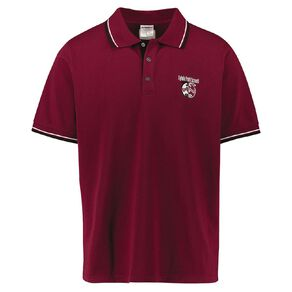 Schooltex Sylvia Park Short Sleeve Polo with Embroidery