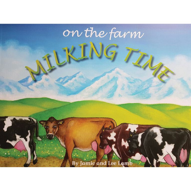 On The Farm: Milking Time by Jamie & Lee Lamb, , hi-res