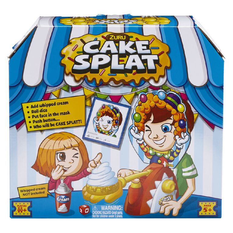 Zuru Cake Splat Game, , hi-res