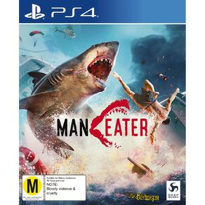 PS4 Maneater Day 1 Edition