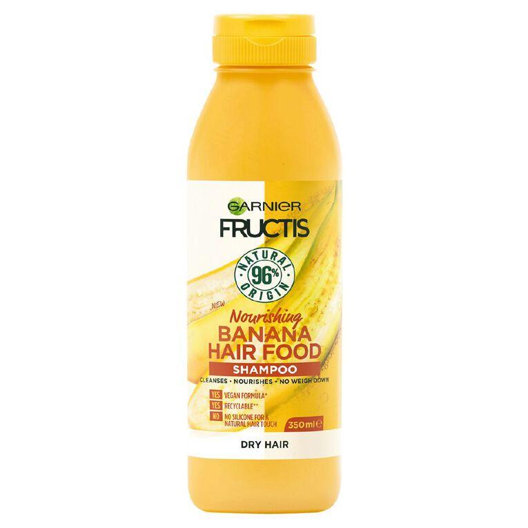 Garnier Fructis Hair Food Banana Shampoo 350ml, , hi-res