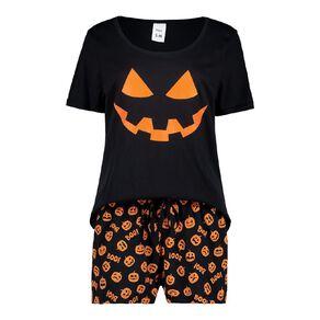 H&H Women's Short Sleeves Pyjama Shorts Set
