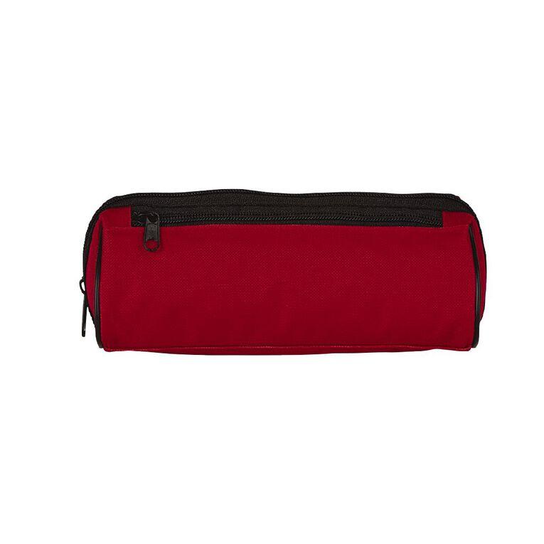 WS Pencil Case Double Zip Red, , hi-res