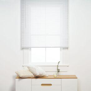 Living & Co PVC Cordless Venetian Blind 25mm White