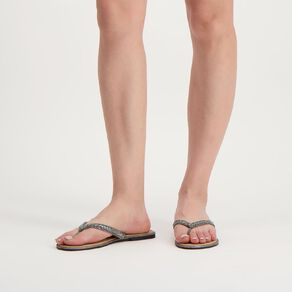 H&H Women's Bling Strap Jandals