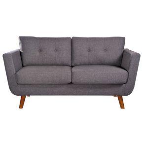 Living & Co Nevada 2 Seater Sofa Charcoal